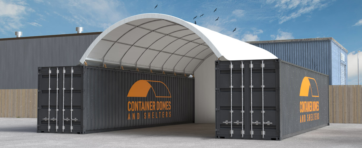 Temp Container Dome Banner