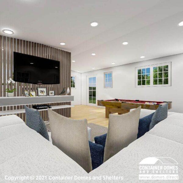 CDS 27m2 Portable Building Interior 3