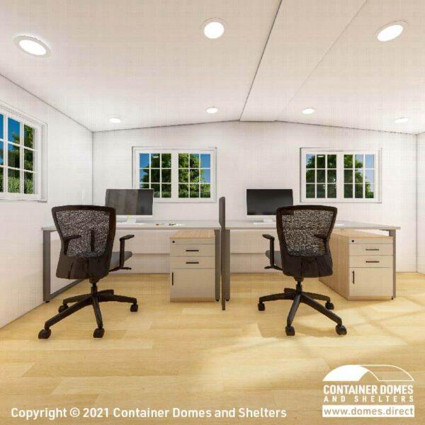 CDS 28m2 Portable Building Interior 1