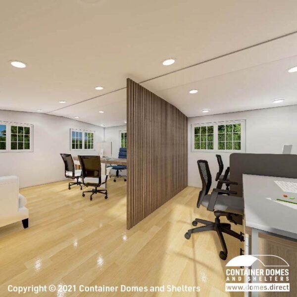 CDS 28m2 Portable Building Interior 3