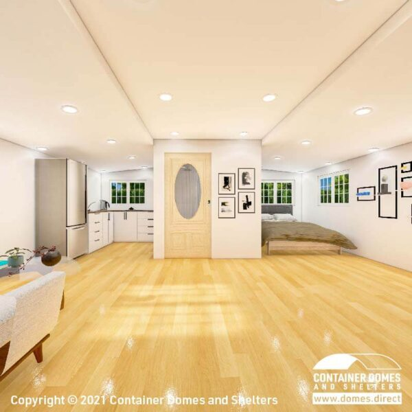 CDS 35m2 Portable Building Interior 2