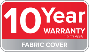 Warranty Badge-10 Year Fabric Cover