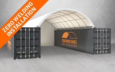 Our Products Container Shelters Zero Welding