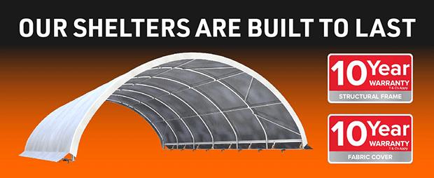 CDS Half Banner Domes Warranty